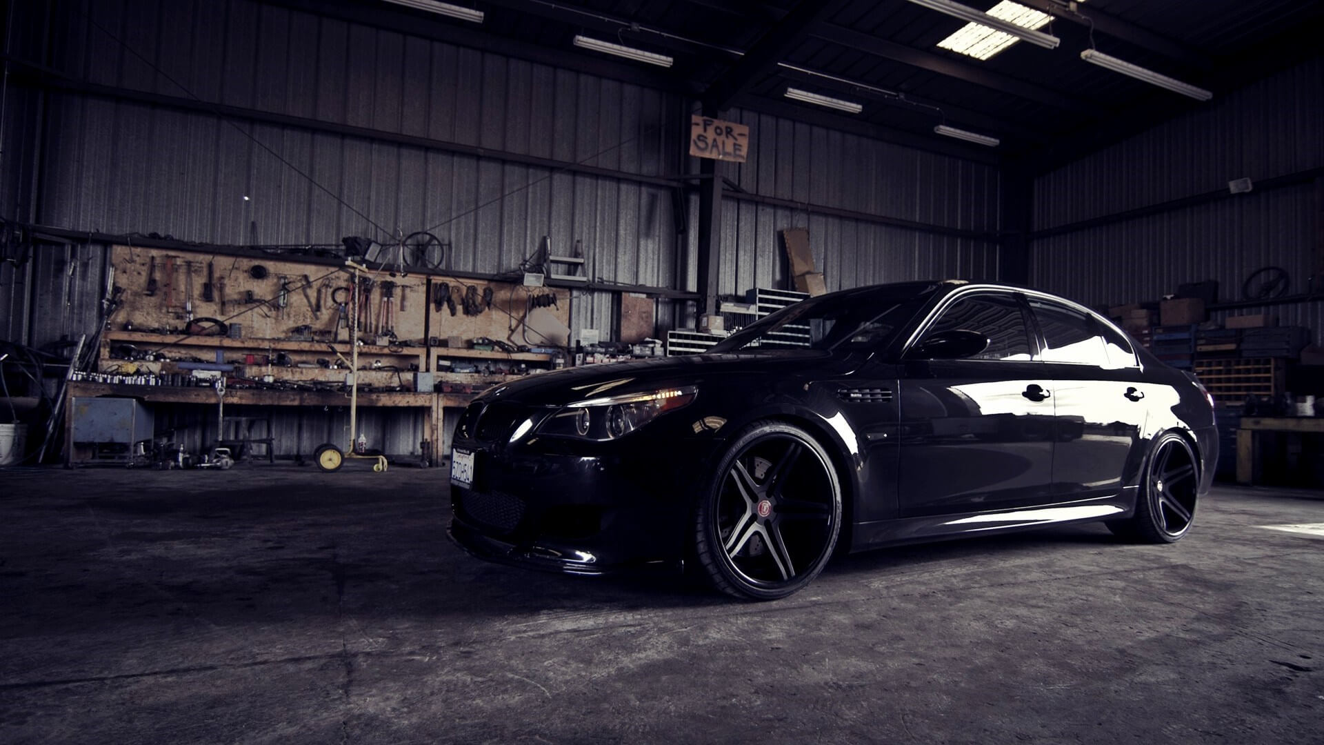 Bmw M5 Garage Hd Wallpaper Car Mechanic Service Werribee